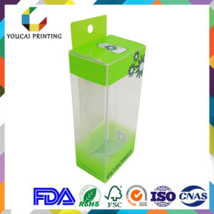 Customizable Plastic Printed Packaging Box for Tubes pictures & photos