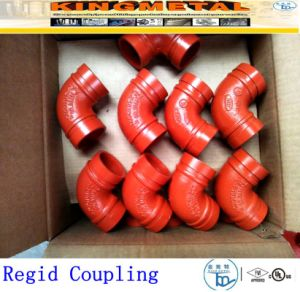 Ductile Iron Grooved Coupling for Fire-Fighting pictures & photos