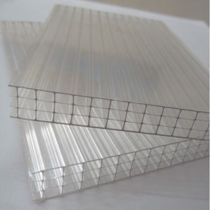 PC Four Wall Polycarbonate Roof Sheet / Frosted Hollow PC Sheet pictures & photos
