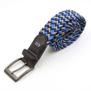 Mix Color Elastic Polyester Belts Braided Men Belts pictures & photos