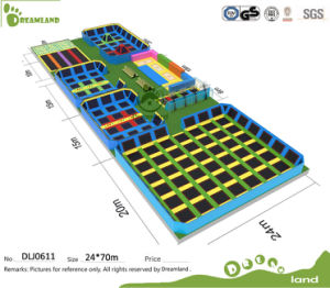 Wholesale Competition Outdoor Gymnastic Trampoline Park for Adults pictures & photos