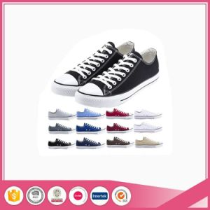 Basic Colorful Adult Canvas Comfort Rubber Sole Shoes pictures & photos