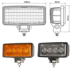 12W Excellent Performance Long Life LED Lamp, Work Light with Different Color pictures & photos