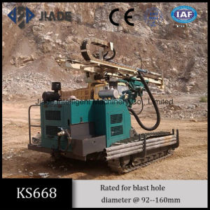 Ks668 Versatile Quarry Blasting Hydraulic Drilling Rig pictures & photos