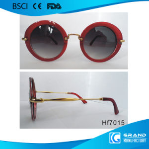 Fashion Italian Style Latest Novelty Designer Metal Sunglasses pictures & photos