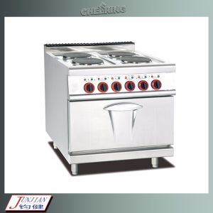 Electric Range with 4-Hot Plates and Oven pictures & photos