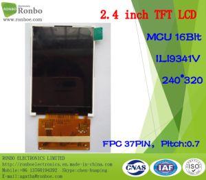 2.4 Inch Qvga 240*320 MCU 16bit 37pin Customized TFT LCD pictures & photos