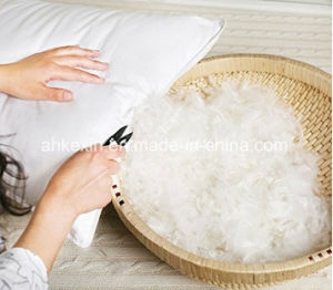 Home Textile White Color Cotton Duck Feather Pillow pictures & photos