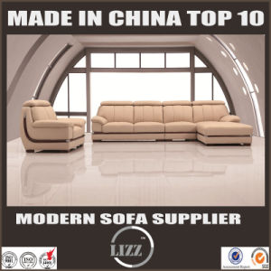 2017 Mature Color Living Room Leather Sofa pictures & photos