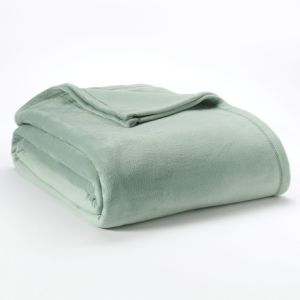 Soft Warm Short Hair Velvet  Fabric Blanket /Over-Soft Pile Fabric Throw pictures & photos