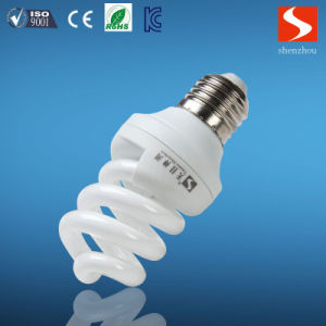 Tri-Color Spiral 5W 3000k Compact Fluorescent Lamp pictures & photos
