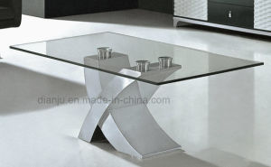 Special Design Home Furniture Glass Sofa Table (CT6033) pictures & photos