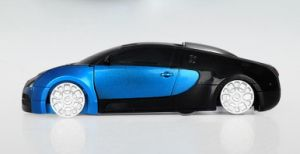 R/C Deformation Blue Bugatti (License) Car Toy pictures & photos