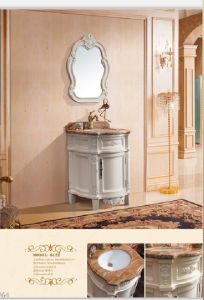 Sanitary Ware Bathroom Cabinet with European Archaize Series (6122) pictures & photos