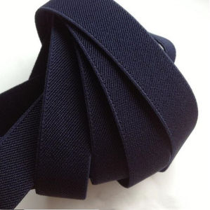 Best Popular Elastic Black Button Webbing pictures & photos