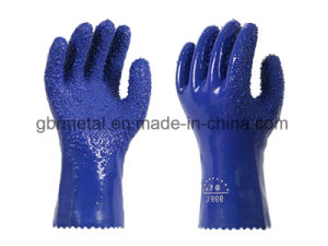 New Style PVC Non-Skid Gloves Work Gloves 999 pictures & photos