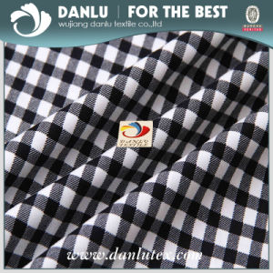 Elastic Poplin Fabric with Grid Printed for Leggings pictures & photos