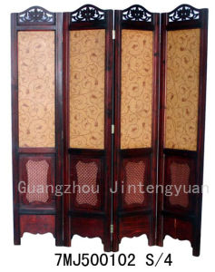 Wooden Folding Screen (7MJ500102)