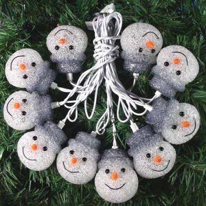 Snowmen Light String (YGSE-019)