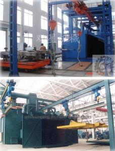 Heavy Machinery Parts Shot Blast Machine (Q37) pictures & photos