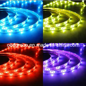 Yellow/ Red / Blue/ Purple LED Strip 14.4W Per Meter IP65 IP68 pictures & photos