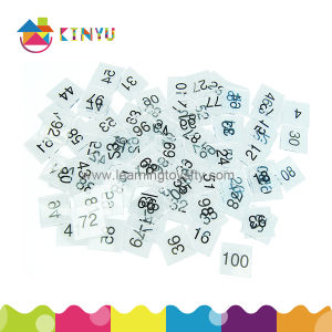 Wholesale Learning Educational Toy / Plastic Number Tiles pictures & photos
