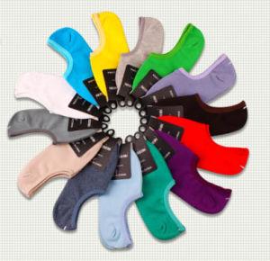 Fashion Cotton No Show Socks pictures & photos