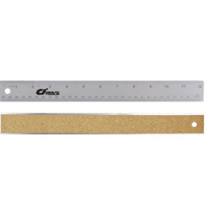 Metal Ruler With Cork Back (CJ-5071)