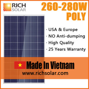 260W Polycrystalline Silicon Solar Modules with TUV Certificate pictures & photos