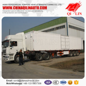 30-50ton Capacity Cargo Container Trailer for Sale pictures & photos