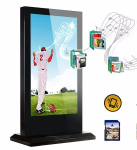 65inch Outdoor LCD Digital Signage Floor Stand Touch Screen Kiosk pictures & photos