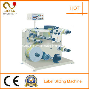 Jumbo Roll Label Sticker Slitter Rewinder with CE pictures & photos