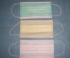 Disposable Nonwoven Face Masks (3-ply, earloop)