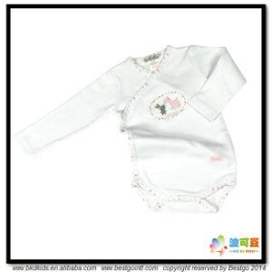 2017 New Design Baby Wear Combed Cotton Newborn Onesie pictures & photos