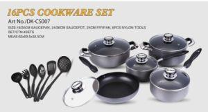 Aluminum Cookware Set (Saucepot, Saucepan, Frypan, Wok) (EG-KW021)