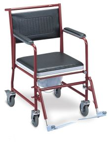 Steel Commode Wheelchair (SC-CW02(S)) pictures & photos