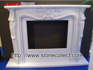 Stone Fireplace (WJ35) pictures & photos