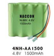 Naccon Ni-Mh Rechargeable Battery Pack (4NH-AA1500) pictures & photos