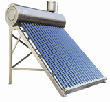 Stainless Steel Solar Water Heater with Assistant Tank
