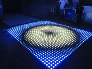 DMX LED Irish Dance Floor Mat Lamp for Disco Parties Car Display Shopping Mall pictures & photos