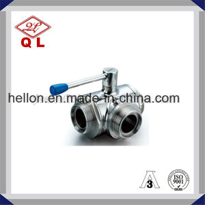Stainless Steel Threated Mini Ball Valve with Reduced-Bore pictures & photos