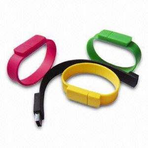 USB Silicone Wristbands pictures & photos