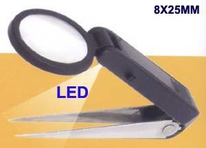 Tweezer Magnifier (5x25mm)