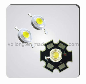 1W LED (White/Warm White/Red/Green/Blue/UV)