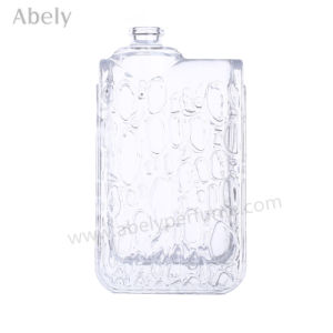 3.4FL. Oz Glass Perfume Bottle with Elegant Rain Drop Decorative pictures & photos