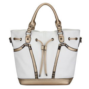 2014 China Supplier Wholesale Leather Women Handbags (MBLX033076) pictures & photos