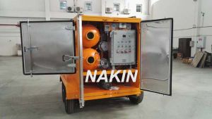 Mobile Type Vacuum Transformer Oil Purifier with Trailer (3000L/H) pictures & photos