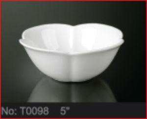 Durable White Porcelain Bowls