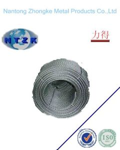 Soft Steel Wire Rope (6X12+7FC) pictures & photos