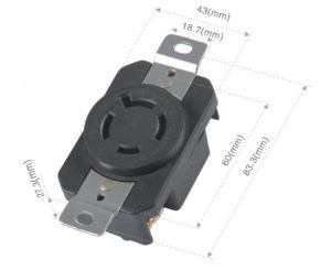 043182001 NEMA American spin lock socket pictures & photos